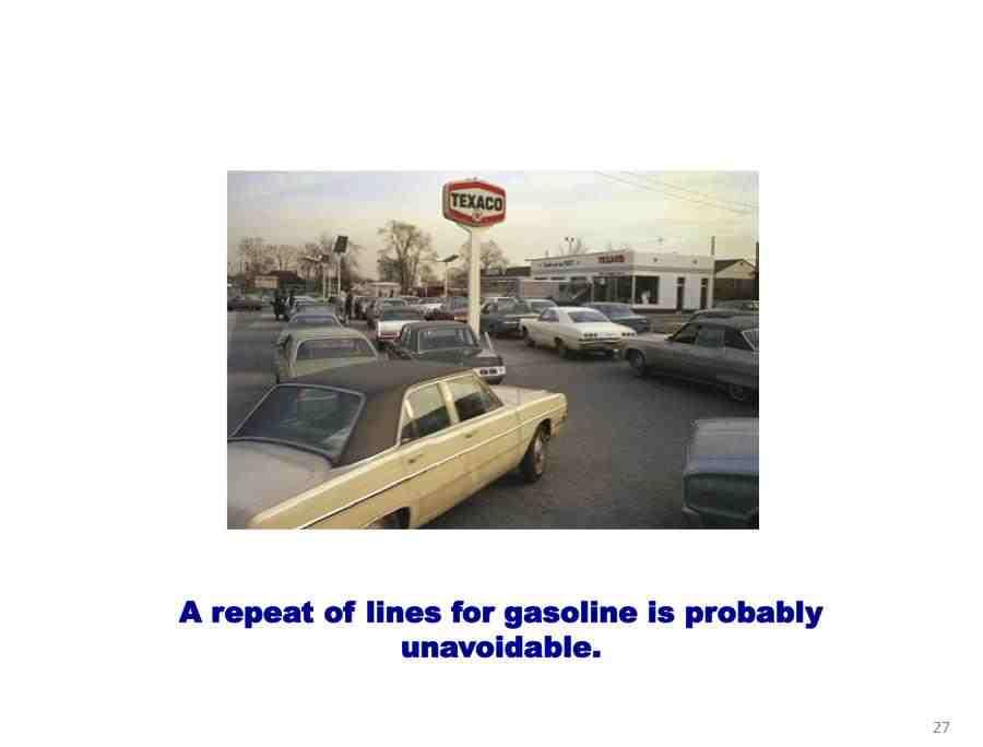 1973 oil crisis panic jams gas prices skyrocket recession depression peak oil