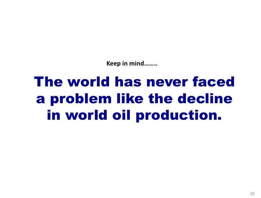oil production decline crisis peak oil hirsch