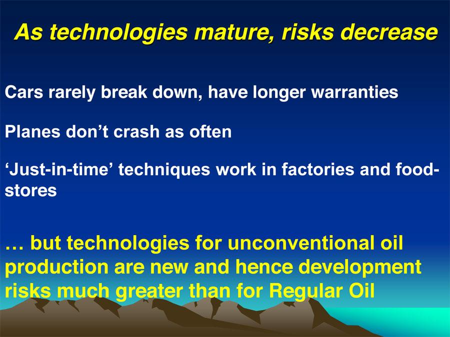 Cars Risk usually-as-technologies-mature-risks-decrease-but-this-isnt-the-case-for-unconventional-oil-production